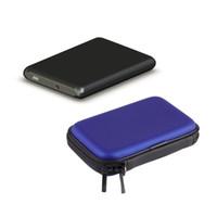 Wd external hard drive Avis-Vente en gros - disque dur Drive Car Pouch Zipper USB External Case Cover Voyage organisateur de stockage pour 2,5 pouces USB WD HDD disque dur