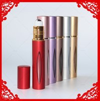 Wholesale M Roll on Bottles ml Roller Ball Bottles Made of Aluminum and Glass with Stainless Steel Ball for Essential Oils Aromatherapy Perfume D