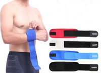 adjustable lifting straps - AOLIKES Weight Lifting Fitness Hand Bandage Adjustable Lycra Elbow Support Brace Strap Wrap Tennis Golfer Epicondylitis Pain A380
