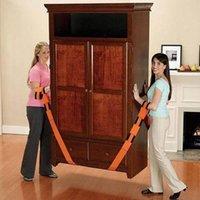 Wholesale 2PCS SET New Lifting Moving Strap Furniture Transport Belt In Wrist Straps Team Straps Mover Easier Conveying Belt Orange D30