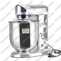 Wholesale 10L W Food Mixer Stainless Steel Egg Beater Push Button Milk Shaker Work Top Dough Mixer