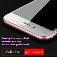 Wholesale Screen Protector Tempered Glass Film For iPhone S S plus s s HD H Anti shatter Paper Package