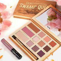 Wholesale Tarte palette Swamp Queen Eye Shadow in Bloom Clay Palette Colors Eye Shadow By Tarte EyeShadow Palette with brush