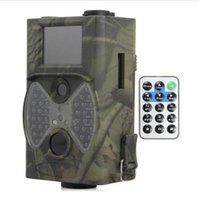 Wholesale Suntek Hunting Camera HC M MP P Video Night Vision MMS GPRS Scouting NM Infrared Trail GSM LCD Hunter Cam