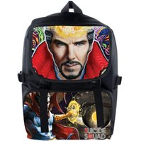 benedict cumberbatch - Doctor Strange backpack Hasp daypack Benedict Timothy Carlton Cumberbatch schoolbag Film rucksack Sport school bag Outdoor day pack