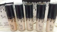 Wholesale 12 bottles Kylie Jenner Liquid Foundation Makeup overlaid with Birthday Limited Edition Primer Powder BB Cream Naked Makeup