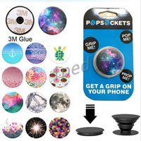 Wholesale 53 Desgin popsockets Without logo Expanding Stand and Grip phone holder pop sockets for Smartphones Tablets For Iphone Samsung pop socket