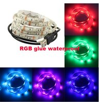 band articles - Bring mobile USB lights article RGB lamp DC5V glue waterproof light color TV background light band