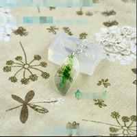 al por mayor resina colgantes de flores reales-Molde pendiente del silicón transparente para la resina Molde verdadero del brazalete de la joyería del molde de la flor DIY