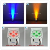 Wholesale 2pcs rgbwa uv in1 wireless led par x12w battery powered uplighting with wifi mobile phone control