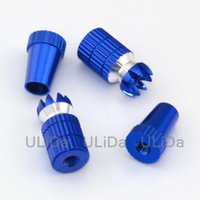 Wholesale 2 Color Red Blue M4 Aluminum Transmitter Thumb Stick for JR Transmitter RC Helicopter Airplane Car Quadcopter