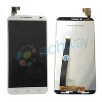 alcatel parts - display set For Alcatel One Touch Idol OT6037 Y LCD Display With Touch Screen Digitizer Assembly Original Replacement Parts