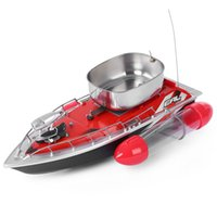 adventure boat - Electric Wireless Mini RC Bait Boat Fast RC Fishing Adventure Lure Bait Boat with US Plug EU Plug for Finding Fish
