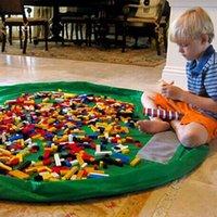 baby organizations - Oversized cm Children s Baby Nylon Storage Bag Portable Toys Storage Bag Blanket Toy Mats Home Organization