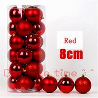 ball specifications - Christmas tree decoration barrels of plastic Christmas ball gift Christmas decorations specifications cm