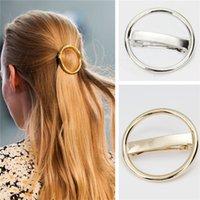 Fashion Metal Barrette ronde Hairpins femmes Accessorise cheveux 2H2027