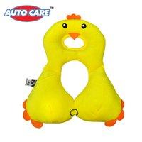 Wholesale 2016 New AutoCare Children years Baby Neck Protection Soft Sleeping Car Headrest Cushion Cartoon Toys