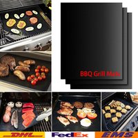 Wholesale BBQ Grill Mats Grill Bake Mats Non Stick Silicone Baking Pad For Cake Cookie BBQ Kitchen Baking Pastry Tools WX K13