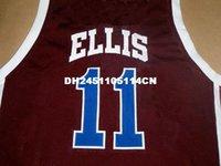 basketball ny - Mens CUSTOM LANIER HIGH SCHOOL JERSEY MONTA ELLIS NEW SEWN NY NAME XS XL RED Retro Basketball Jerseys