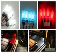 Wholesale VW OEM Car LED Footwell Lamp Kit Fit For VW Golf MK5 MK6 Jetta MK5 MK6 Tiguan Passat