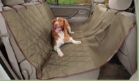 Wholesale The United States Solvit suede car rear seat cushion car supplies pet pad waterproof Dog Car cushion