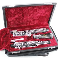 Wholesale Bakelite Clarinet Key Bb Flat Soprano Nickel Plating Exquisite With Cork Grease Woodwind Instruments Composite Wood DHL free