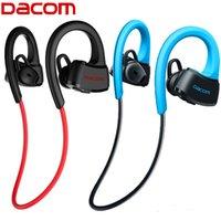 For Blackberry Waterproof Wireless DACOM P10 Bluetooth Earphone IPX7 Waterproof Wireless Sports Swimming Running Headphone Stereo Music Headset BT4.1 for phones