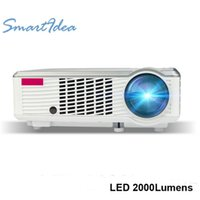 Wholesale SmartIdea LED33 Projector Lumens P Support portable LED Home Theater Entertainment projector With AV VGA HDMI USB