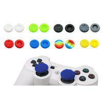 Wholesale VR PLUS Silicone Analog Grips Thumb Stick Handle Caps Cover Thumbstick For Sony Playstation PS4 PS3 Xbox Controller