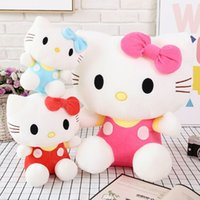 big foam finger - genuine large Hello Kitty doll plush toy doll Hello Kitty Ktmao birthda y