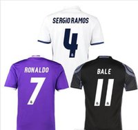 best james - Whosales Madrid Jersey Soccer Jerseys Real Cristiano Ronaldo Bale James Kroos Benzema Ramos big Soccer uniforms Best Thai XXL XXL XXXL
