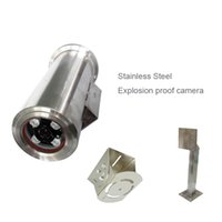Wholesale 1080P HD mm special design Chemical petroleum pharmaceutical mine stainless steel explosion Exd CT6 vandalproof camera