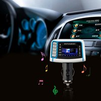 Wholesale 1 Inch CSTN LCD Display Car MP3 Player MP4 With Built in Wireless FM Stereo Transmitter M SD