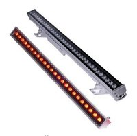 aluminum stains - 9W W W W W W LED Wall Washer Light RGB Washer Stage Linear Flood Light Staining Light Aluminum Alloy Waterproof IP67 LLFA