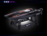Wholesale High Speeding Boat Model Electric mini RC Speed Boats RC Speedboat Remote Control boats