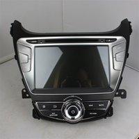 al por mayor elantra dvd-Nuevo 8inch coche reproductor de DVD android 5.1 OS para Hyundai Elantra 2014 con GPS, control de volante, Bluetooth, radio