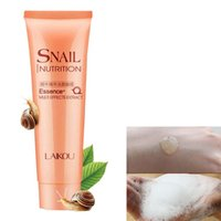 Wholesale Snail Essence Face Cleansing Gel Snail Nutrition Facial Cleaner Deep Clean Shrink Pores Whitening Skin Care
