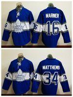 Wholesale Mitchel Marner Toronto Maple Leafs Centennial Classic Stitched Jersey Austen Matthews Hockey jerseys ROYAL BLUE Hockey Uniform