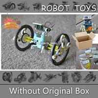 Wholesale NEW in Solar Robot Kit Educational Solar Power Robot DIY Toy Assembled Toys For Kids Car Boat Animal DIY Robot