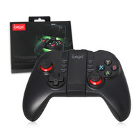 Wholesale Game Controller Wireless Bluetooth Game Controller Gamepad for Joystick iPhone iPad Samsung HTC Android Table PC with Retail package