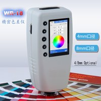 Wholesale new Professional Colorimeter digital color meter tester includes switchable calibers mm mm