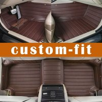 Leather ats weather - 3D Custom fit car floor mats for Cadillac ATS CTS XTS SRX SLS Escalade D car styling all weather carpet floor liner
