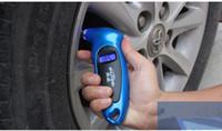 al por mayor probador manómetro-Prueba De Presión De Vacío Nueva Lcd Digital Tire Gauge Tire Prueba De Presión De Aire Herramienta Neumática Para Motocicleta De Coche