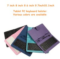 Wholesale 7 inch inch inch inch10 inch keyboard holster Tablet Case keyboard ipad holster universal keyboard tablet computer protection case