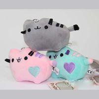 Wholesale Kawaii Brinquedos New Small Pendant Pusheen Cat Stuffed Plush Animals Toys for Girls