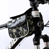 Wholesale Riding equipment mountain bike before the beam package wear waterproof shockproof bicycles double pack on the tube package YX07