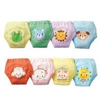 Wholesale 4 layers cartoon baby training underwear for toddlers panties kids pants shorts panties unisex top quality baby toddler designer