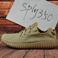 Cheap 2017 New Adidas Originals Yeezy 350 Boost Running Shoes For Sale Men Women 100% Original Online Yeezys Sports Shoes Free Drop Shipping