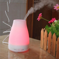 Wholesale 100ml Essential Oil Diffuser Portable Aroma Humidifier Diffuser LED Night Light Ultrasonic Cool Mist Fresh Air Spa Aromatherapy JF