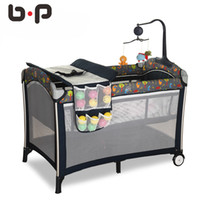 Wholesale Bp Multifunctional Folding Baby Bed Fashion Portable Game Baby Bedding Set Other